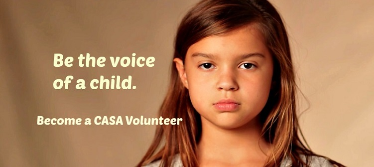 Be the voice of a child become a volunteer